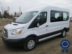 "2017 Ford Transit T-150 XLT 130"" WB Medium Roof 8 Passenger Van"