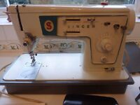 Singer electric sewing machine.