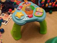 Fisher price activity table as new