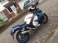 Hayabusa gen2 2008 mot january comfy fast fun £3149 Cheap as its been used all year round