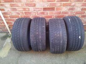 4 winter tyres 235/45 R17