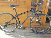 "Claud Butler Hybrid bike. 19"" frame. 700cc wheels. Fully Working"