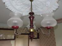 Ceiling lights with shades