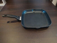 Fissler 28cm Square Grillpan, almost NEW