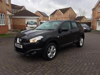 2012 NISAN QASHQAI ACENTA DCI , 12 MONTH MOT, SERVICE HISTORY, LOW MILEAGE 55k, HPI CLEAR,