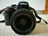 Nikon d3400 with 18-55mm lens