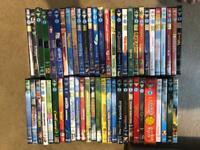 50+ Disney and Pixar Classic DVDs