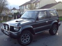MITSUBISHI PAJERO 2.8 LTD EDITION SWB 3 DOORS 4X4 AUTOMATIC GREY ** LONG MOT!!! **