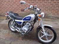 lexmoto vixen 125 very nice bike