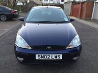 2002 Ford Focus 1.6 i 16v Zetec 5dr Automatic Full Service History @07445775115@ 07725982426@