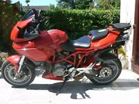 Ducati Multistrada 1000DS with accessories, full tourer or city supermoto.