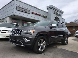 2016 Jeep Grand Cherokee LIMITED,LEATHER,ALLOYS,HTD SEATS,RMT ST