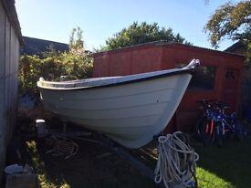 16 foot fishing boat