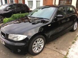 BMW 120i 6speed Manual black