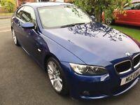 Blue BMW 3 series M sport 320i
