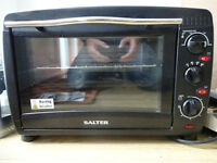 Salter mini oven and twin hob hardly used