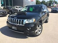2011 Jeep Grand Cherokee Overland NAVIGATION LOADED!!