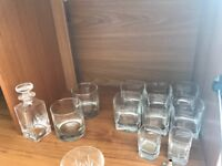 Selection of tumbler glasses