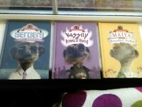 Meerkat books ,Vassily, Sergei,maiya £5 for set