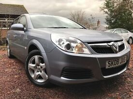 *12 MTHS WARRANTY*2008(08)VAUXHALL VECTRA 1.9 CDTI(150BHP)EXCLUSIVE ESTATE 6 SPEED*SUPERB CLEAN CAR*