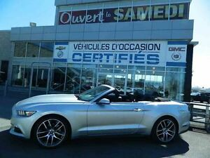 2015 Ford Mustang Convertible EcoBoost Premium + NAVIGATION