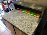 Preparation fridge pizza fridge