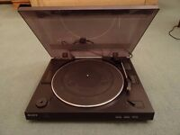 Sony Record Player With Built In Pre-Amp Full Working Order