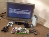 "Bush 32"" LCD TV + XBOX 360 BUNDLE"