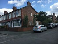 3 bedroom house Chorlton- off Beech Road. Available January 2018