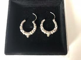 Hollow dragon earring