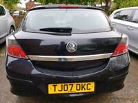 1.4 litre 2007 reg vauxhall Astra. 3 door. Long mot. Service history. Great engine and gearbox