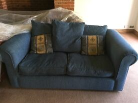 Sofa Bed - blue except £100