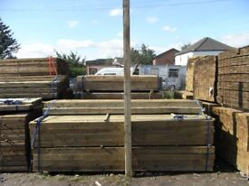 Timber fence post 100mmx100mmx3m