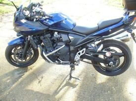 Suzuki Bandit 650..Low mileage.Well cared for bike in very nice condition.Candy Blue.