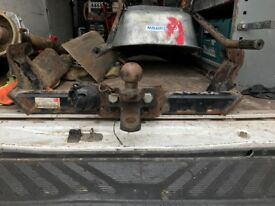 Ford transit mk6-mk7 tow bar with bolts and electric plug