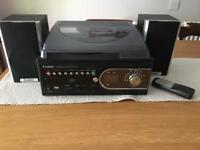 Steepletone Turntable CD Radio System