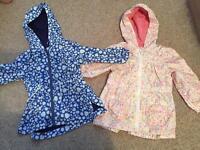Girls age 2-3 summer coats