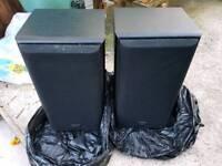 2 x technics SB-CS65 stereo speakers. Used. Hurley. Maidenhead