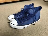 Converse (canvas knit & leather) size 11