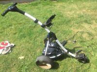 Motocaddy S3 digital electric golf trolley lithium battery