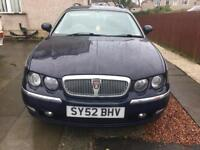 Rover 75 diesel tourer with self levelling suspension and traction control