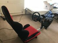 Playseat, OpenWheeler racing seat + brand new Logitech G29! For PS4, PC.