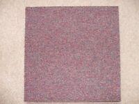 Carpet tiles heavy duty in pink qty of 8 500mm x 500mm
