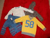 12-18 MONTHS BOYS WINTER BUNDLE X9 ITEMS - £5 FOR ALL