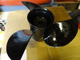 Mercury outboard propeller. 11 1/4 X 13.