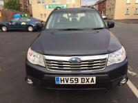 2009 Subaru Forester Estate 2.0 X Automatic & Triptronic AWD (All-Wheel-Drive) Mot'd LPG MPG PX Poss