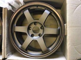 Rota Grid 17x8 5x114.3 ET 42 for Honda Nissan Mitsubishi Toyota Alloy Wheels