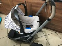 mothercare xpedior tusk edition. Complete travel system.