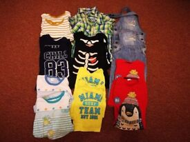 Clothes for twins boys 18-24 months. Smoke and pets free house. Only pick up