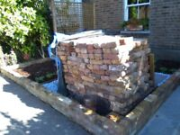 500 reclaimed Old London Stock bricks. For collection